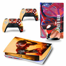 PS5 Disc Edition Skin Decal Sticker -Spiderman Custom Design 29 - FREE P&P