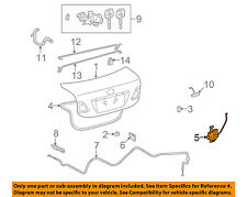 TOYOTA OEM 09-13 Corolla Trunk-Lock or Actuator Latch Release 6460002040