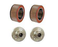 NEW For BMW E30 E36 Z3 E46 E85 Set of 2 Rear Trailing Arm Wheel Bearing+Axle Hub