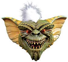 Gremlins Stripe Mask Adult Latex Halloween Green Creature