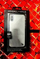 Kendall + Kylie iPhone X Phone Case Cover ,5ft drop tested,sleek,silver stripes