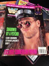 WWF WWE Magazine SEPTEMBER 1995 Shawn Micheals + Diesel Poster
