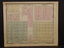 Missouri , Marion County Map, Ely Station, Fairview, Philadelphia 1875 J4#14