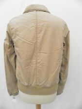 Ralph Lauren Ladies Jacket Coat Beige Military Bomber Size Large 12 14 £165