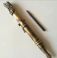 The ancient Chinese bronze dragon sword hidden in the cuff, concealed weapon