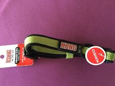 Dog collar,Kong adjustable lime and black Dog collar sz Small,Neck size 10-14 in