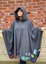 More details for fleece hooded camp blanket / blanket poncho