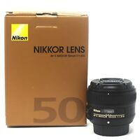 Nikon AF-S NIKKOR 50mm f/1.8G - UK NEXT DAY DELIVERY