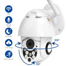 1080P WIFI IP Camera Wireless Wlan Outdoor CCTV PTZ Smart Home Security Cam UK