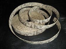 15Y Retro Vintage Snake Reptile Vinyl Sewing Trim 1in Wide Handbags Whole Roll