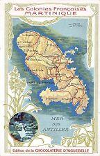 B93994 les colonies  martinique  caribbean litho chocolaterie d aiguebelle