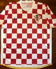 Nike CROATIA 2006 World Cup XL Home Soccer Jersey Football Shirt Hrvatska Dres