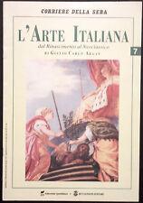 L'ARTE ITALIANA N. 7 - Dal Rinascimento al Neoclassico - GIAMBOLOGNA, CELLINI...