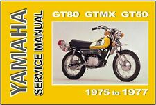 Yamaha Gt80 Repair Manual In Parts Accessories Ebay