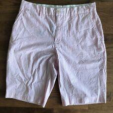 Polo Ralph Lauren Pink Striped Sailing Nautical Summer Short Pants (Size 32)