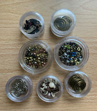 Assorted Lot Of 7, Scrapbook Fasteners, Grommets, Brads & Other Various Designs