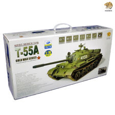 Hooben Classical Collection Tank Model 1/16 Static Kit T55A Russian Heavy Tanks