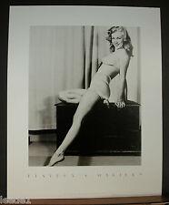 Earl Moran Marilyn Monroe Pinup Playboy Edition Black & White Classic Swimsuit