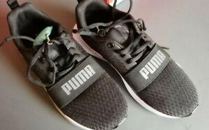 Puma Unisex Wired puma black-dark Shadow, Softfoam*, neu , Gr. 39