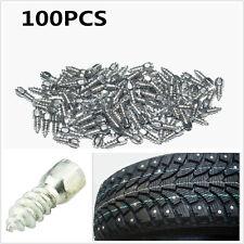 100 un. 12mm Tornillo en Consejos de carburo de neumático con cuerpo de acero para coche/camión/ATV