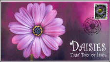 Ca17-017, 2017, Daisies, Purple, Day of Issue, Fdc, Pictorial Postmark