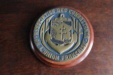 Tape de bouche ancienne Association des combattants de l'union française 1960