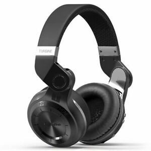 Original Bluedio Turbine T2S Wireless 5.0 Headphones With Mic Wireless Headset