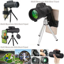 Us 40X60 10X42 Zoom Optical Monocular Lens Telescope Kits For Universal Phones