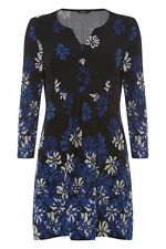 Women's V Neck Floral Polyester Tunic, Kaftan Tops & Shirts