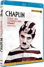CHARLES CHAPLIN TODAS SUS COMEDIAS PARA ESSANAY BLU RAY NUEVO ( SIN ABRIR )