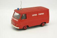 Norev Plastique 1/43 - Peugeot J7 Pompiers