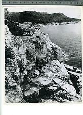 (127A) Photo press USA USIS Mount Desert Maine