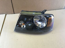 2004 2006 2007 2008 Ford F150 Lincoln Mark LT left headlight black 6L34-13006-A