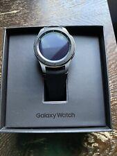Samsung Galaxy Watch SM-R805 46mm Silver Case Classic Buckle Onyx Black - LTE