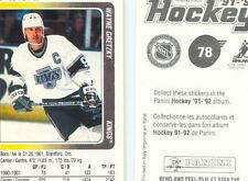 1990-91 PANINI HOCKEY LOT OF (5) STICKER BOXES (500) PACKS!   GRETZKY sale!!!!