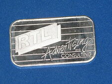 RTL Advertising And Consulting Silver Art Bar B5721