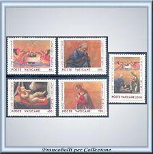 Vaticano Wojtyla 1990 Natale n. 890/894 Integri **