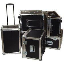 "Supplies & Accessories ATA Case w/Retractable Handle & Wheels - ID 23""x15""x10"""