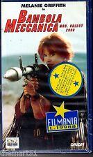Bambola meccanica Mod. Cherry 2000 (1987) VHS Columbia Pct.  - NEW cellofanata