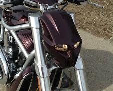 HOOLIGAN Custom motorcycle Streetfighter mask headlight universal light fairing