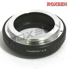 Tamron Adaptall 2 lens to Olympus 4/3 Four Thirds Adapter E-3 10 30 400 500 510