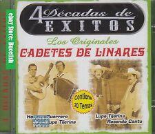 Los Cadetes de Linares Los Originales 4 Descadas de Exitos CD New Nuevo sealed