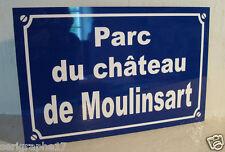 plaque TINTIN chateau MOULINSART objet collection déco originale cadeau pour fan