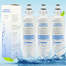 A-Premium Replacement Refrigerator Water Filters for Lg Lt700P Lt-700P 3-Pcs Set