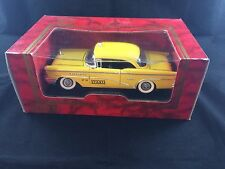 1955 Buick Century Taxi -By MIRA - Golden Line - E/1:18 Scale - Die Cast Metal