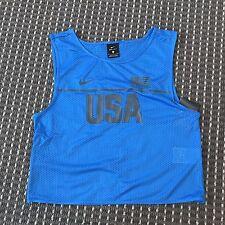 BNT Nike Women's Blue Sports Top Size S RRP$55 DRI FIT
