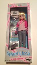 Takara Licca-Chan Doll Dj Style Short Blonde Hair Street Licca Made in Japan Nib