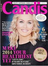 CANDIS UK Magazine January 2014, Sharon Stone cover & interview