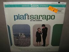 PIAF and SARAPO at the BOBINO ORIG SEALED LP 1963 ST 10348 NoCutOut Chanson Theo