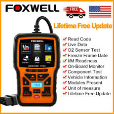 FOXWELL NT301 Automotive OBD2 OBDII Car Code Reader EOBD Diagnostic Scanner Tool